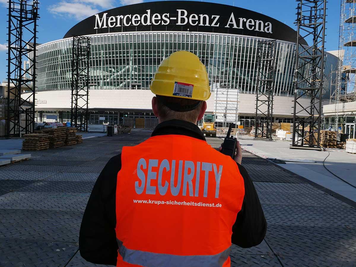 Sicherheitsdienst Berlin Wachschutz, Baustellensicherheit durch die Krupa Sicherheitsdienst GmbH
