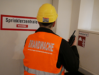 Brandwache Ausbildung Krupa Sicherheitsdienst