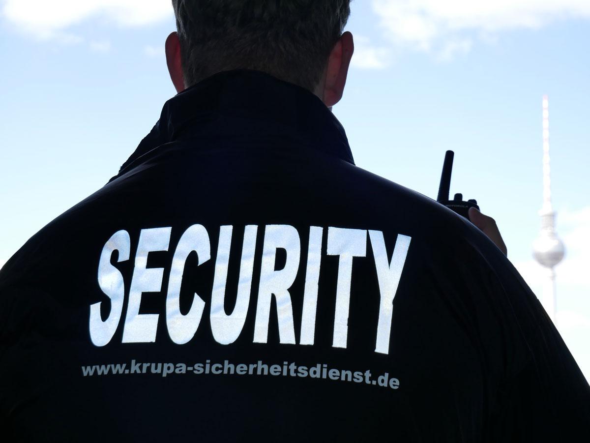 Sicherheitsdienst Berlin: Fachkraft für Security aus Berlin